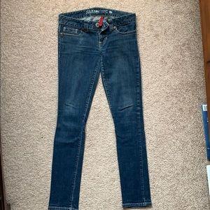 """Guess """"daredevil skinny leg"""" jeans, size 27"""